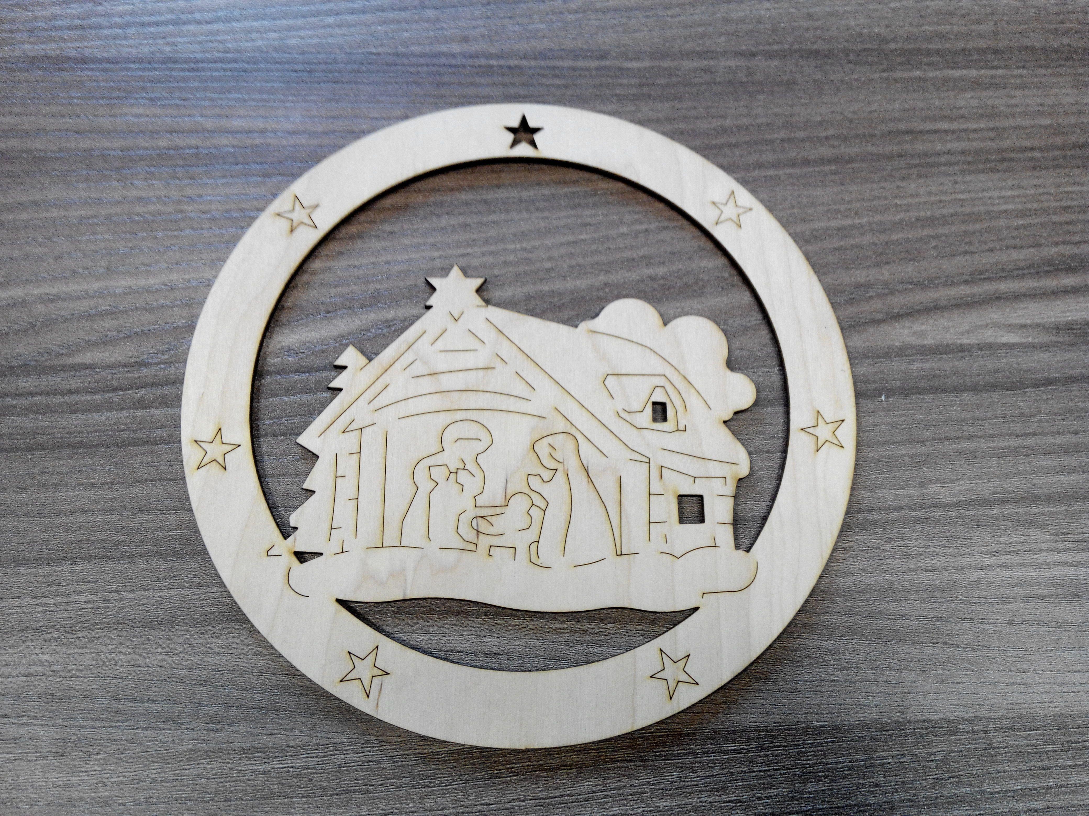 Christmas decoration, 20cm diameter