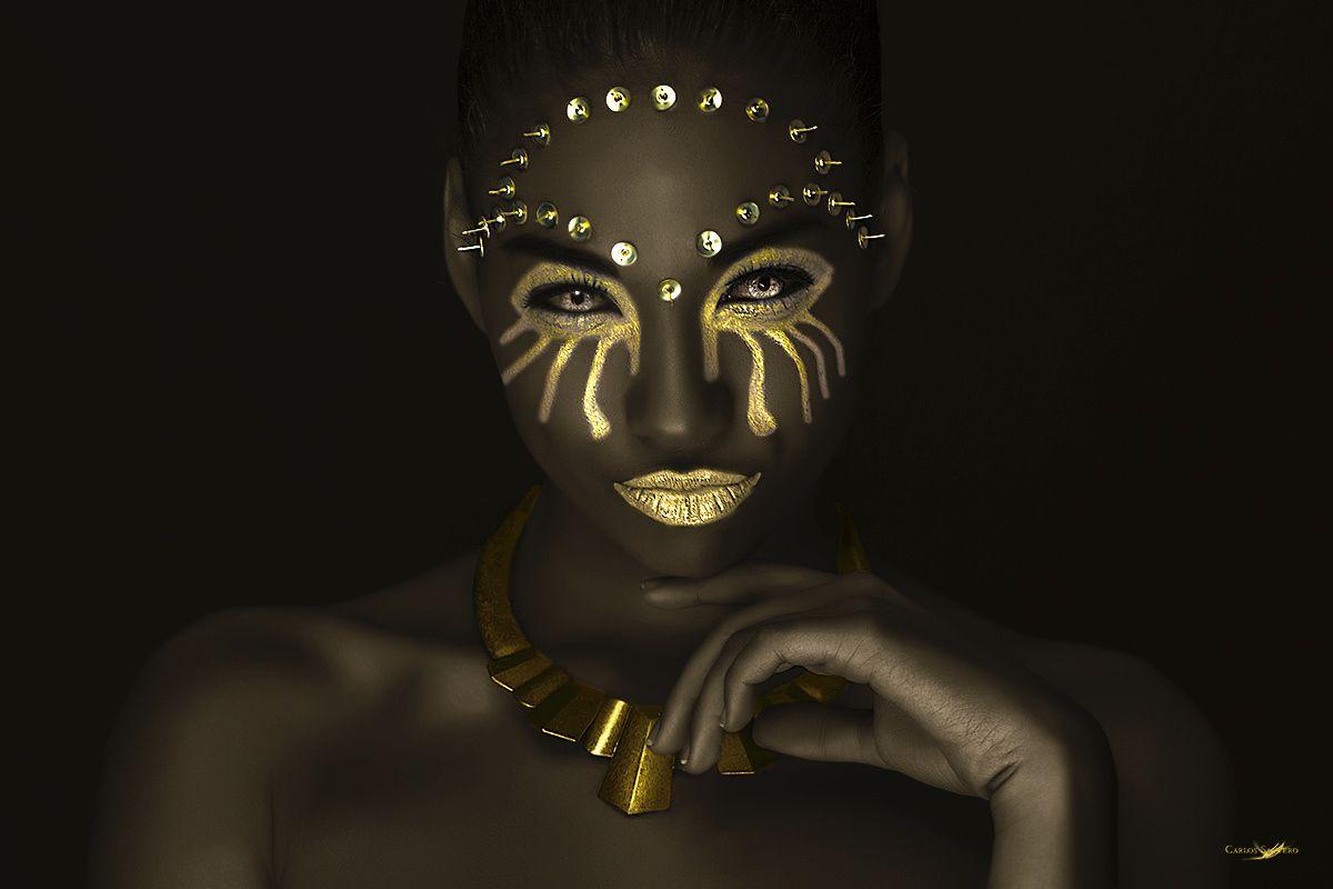"Shades of Gold - Model: Claudia Coba Makeup Artist: Francis Bodí Studio: Kube Studio by <a href=""https://www.facebook.com/carlossanterophoto"">Carlos Santero</a>   <a href=""http://www.facebook.com/carlossanterophoto""> Facebook Page </a> || <a href=""http://twitter.com/SanteroFoto""> Twitter </a> || <a href=""http://carlos-santero.com""> www.carlos-santero.com </a> ||"