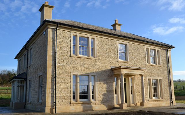 new build country house leicestershire home construction donaghmore ...