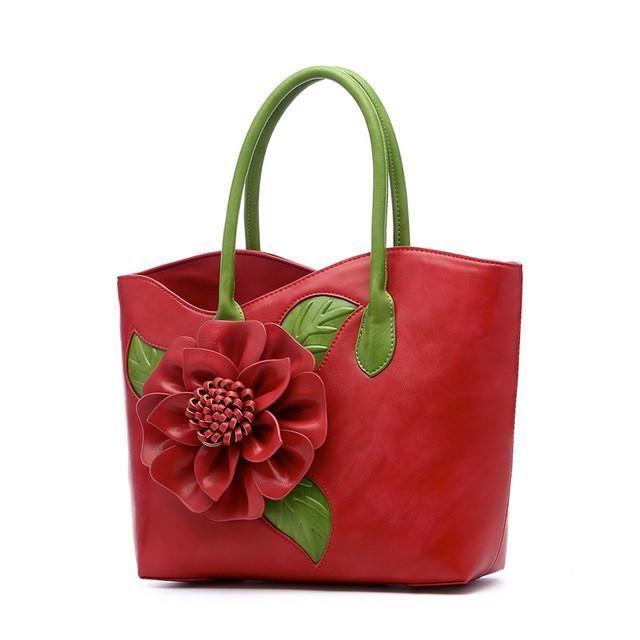 Moccen Floral Tote Bag