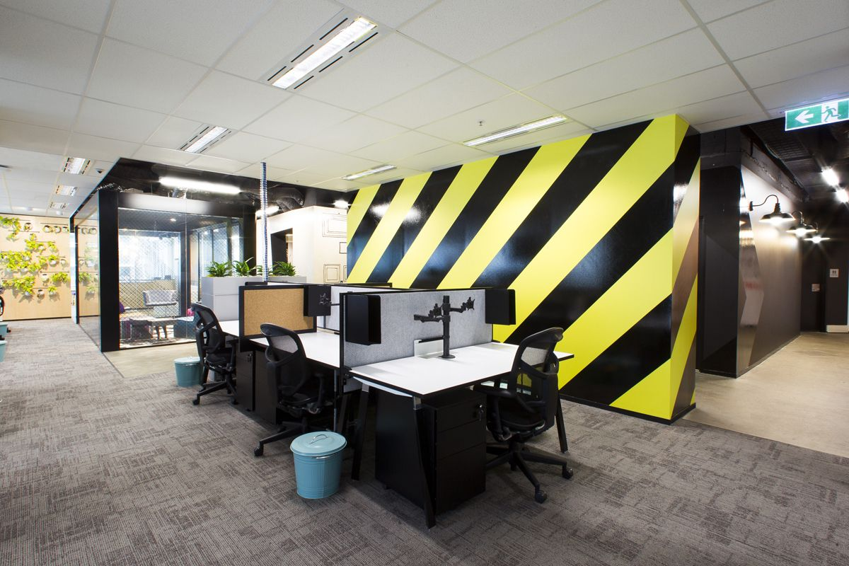 office tour hollard australia groups real insurance call center - Interior Design Groups