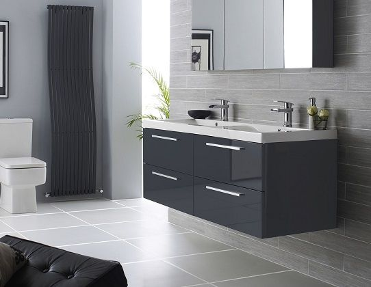 The Essential Bathroom Design Checklist Grey Bathrooms Bathroom Units Grey Bathroom Furniture