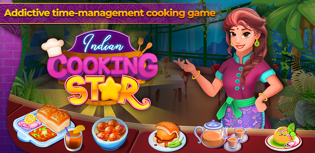 Indian Cooking Star Chef Restaurant Cooking Games