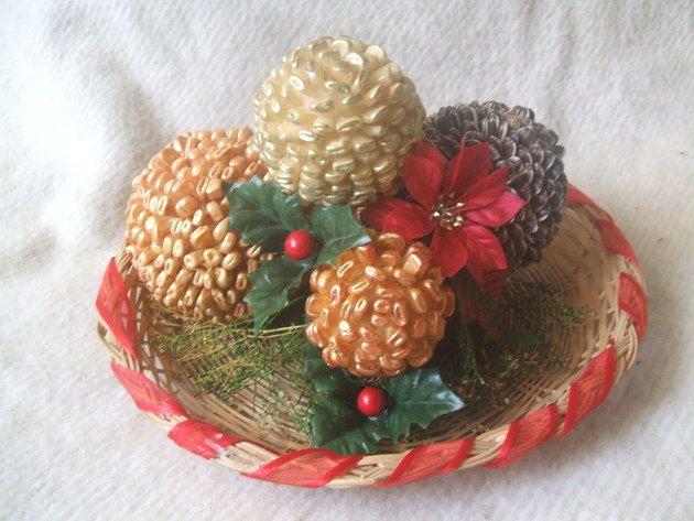 Centro de mesa de navidad enviado por ana mar a shell - Manualidades centros de navidad ...