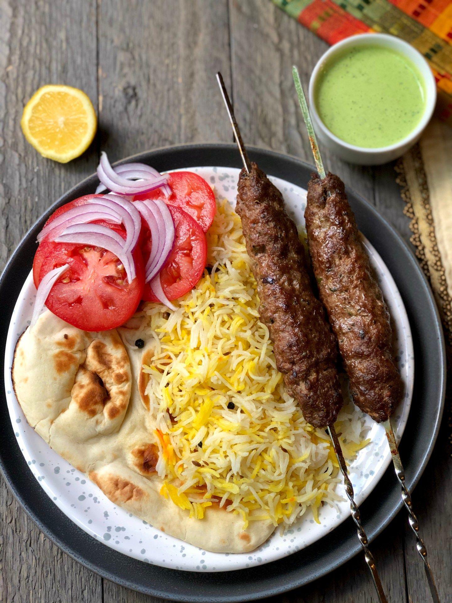 Seekh Kebab Ground Beef Skewers Kebab Recipes Beef Kebab Recipes Beef Skewers