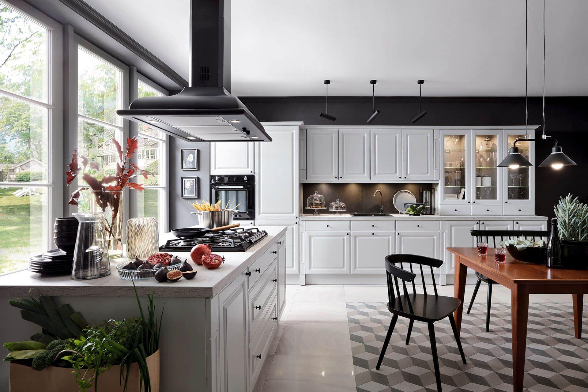 Black Red White Senso Kitchens Kuchnia Kasetta Brw Blackredwhite Kitchen Kitcheninspiration Kit Classic Kitchens Kitchen Inspirations Kitchen Design