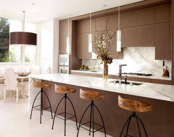 Moderne Küche Insel Beleuchtung
