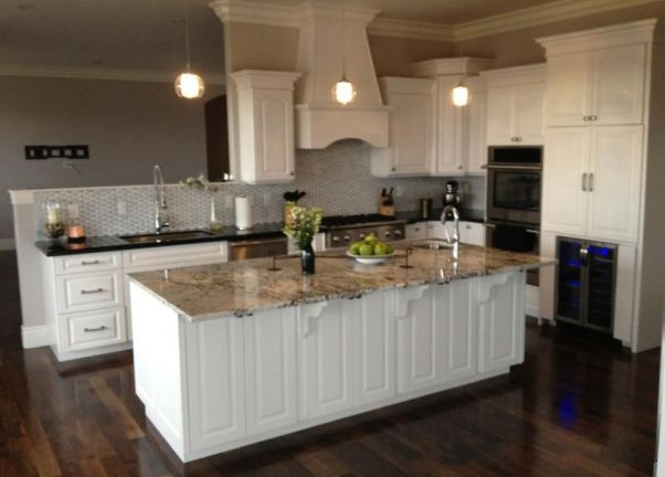Impressive Granite Colors For White Cabinets With Best