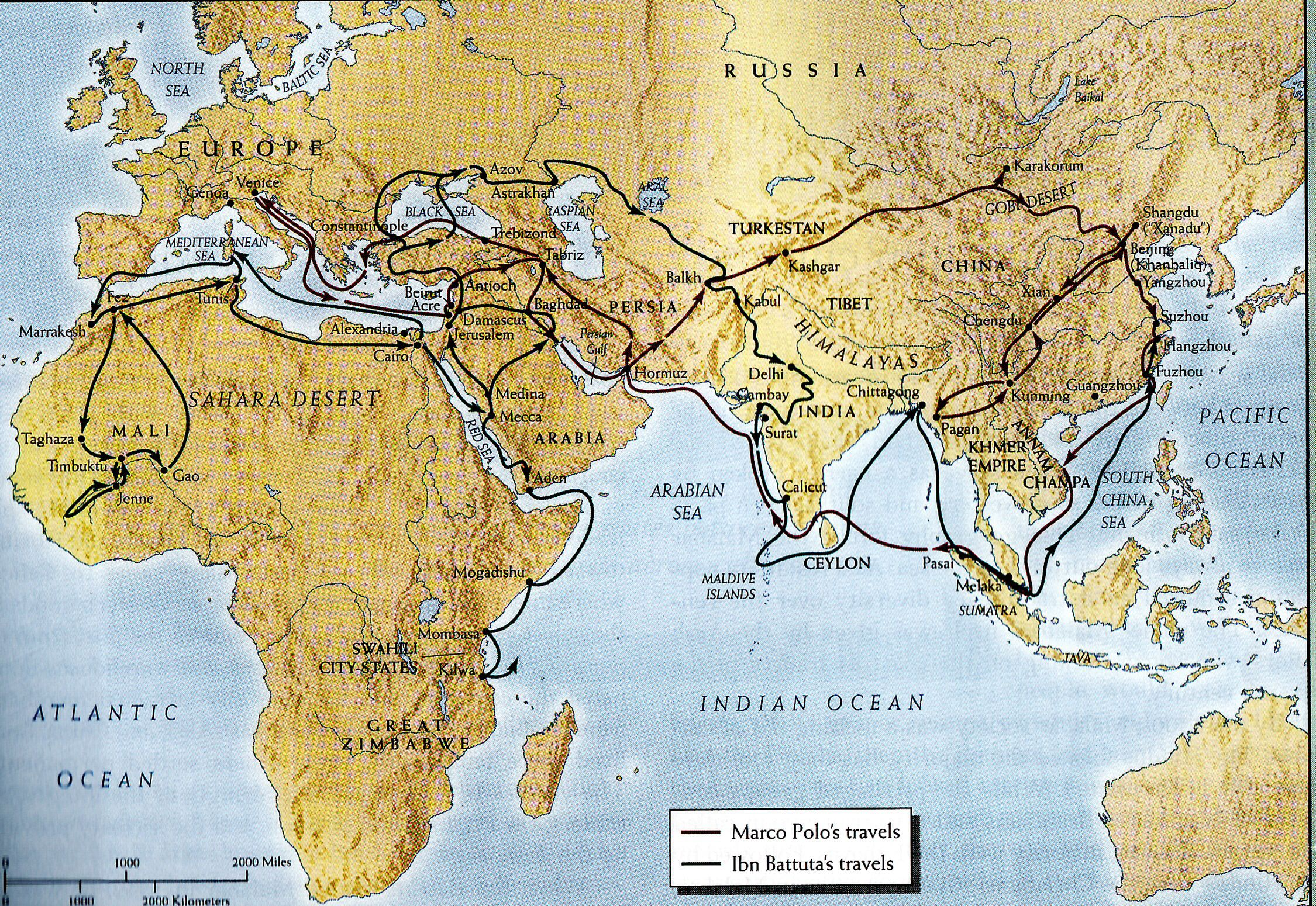 Travels Of Ibn Battuta In India