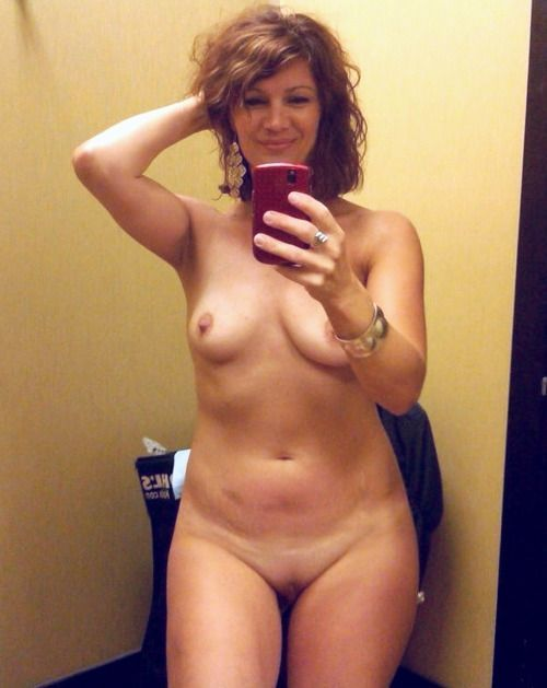 Nude Selfie In The Changing Room - I Dare You To Do The Same  Cute -5452