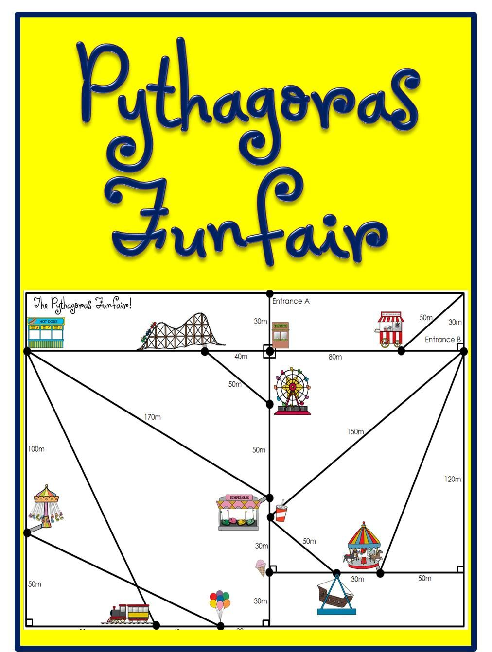 Pythagorean Theorem Activity Pythagorean theorem