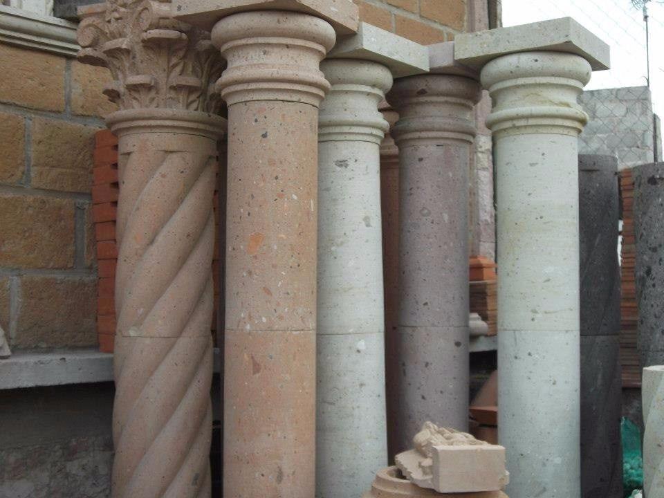 Columnas en cantera codigo 95260 1 en for Pilares y columnas
