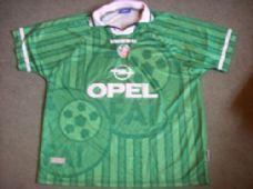 46f21c61f 1998 2000 Republic of Ireland Home Football Shirt Adults XXL Top ...