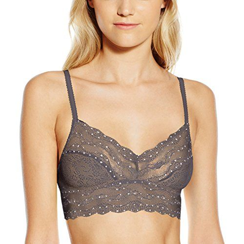 529139a6d72 btemptd by Wacoal Womens Lace Kiss Bralette PlatinumPolka Dot Small -- Want  additional info  Click on the image. (This is an affiliate link)   ...