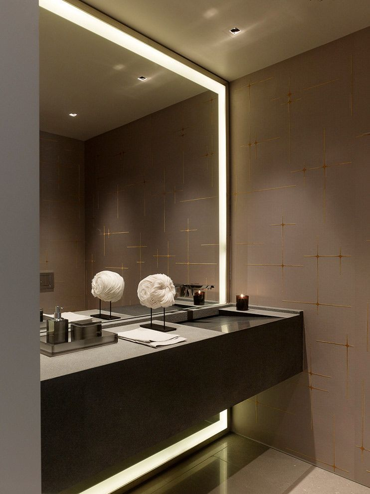 How To Pick A Modern Bathroom Mirror With Lights | Pinterest | Giant ...