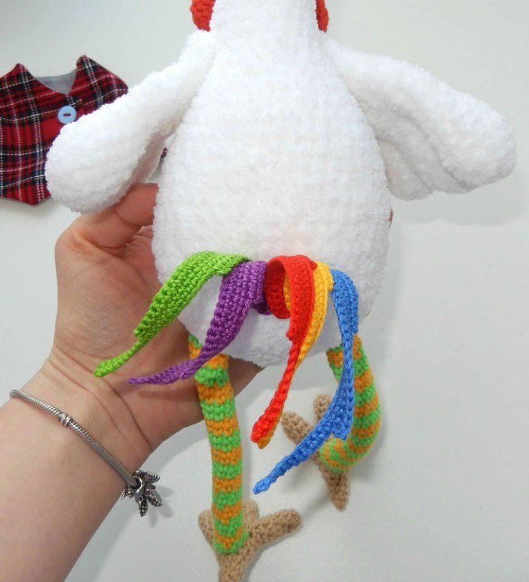 Funny Rooster Crochet Pattern Tail Amigurumis Pinterest