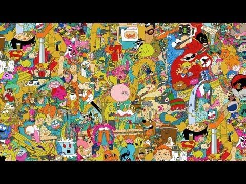 Pin By Megan Smith On General Geekery Cartoon Wallpaper Cartoon Wallpaper Hd Trippy Cartoon