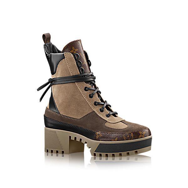 72617402ec53 LOUIS VUITTON Laureate Platform Desert Boot.  louisvuitton  shoes ...