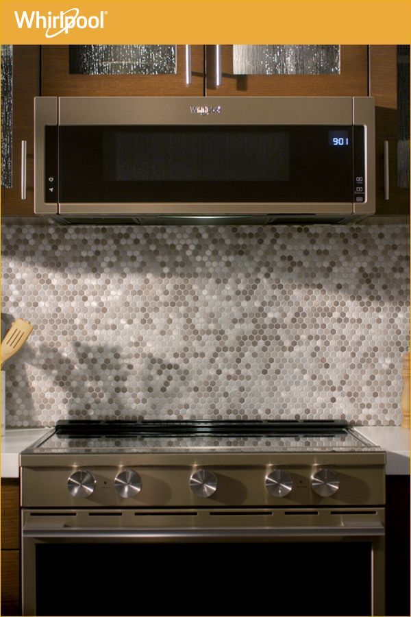 Learn about the new Whirlpool® Low Profile Microwave Hood