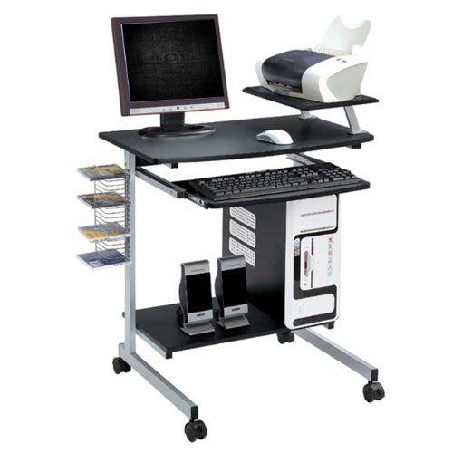 Ergonomic Multifunction Mobile Compact Computer Desk Gr Https Smile Amazon Com Dp B002encqda Ref Cm Sw Compact Computer Desk Computer Cart Computer Desk