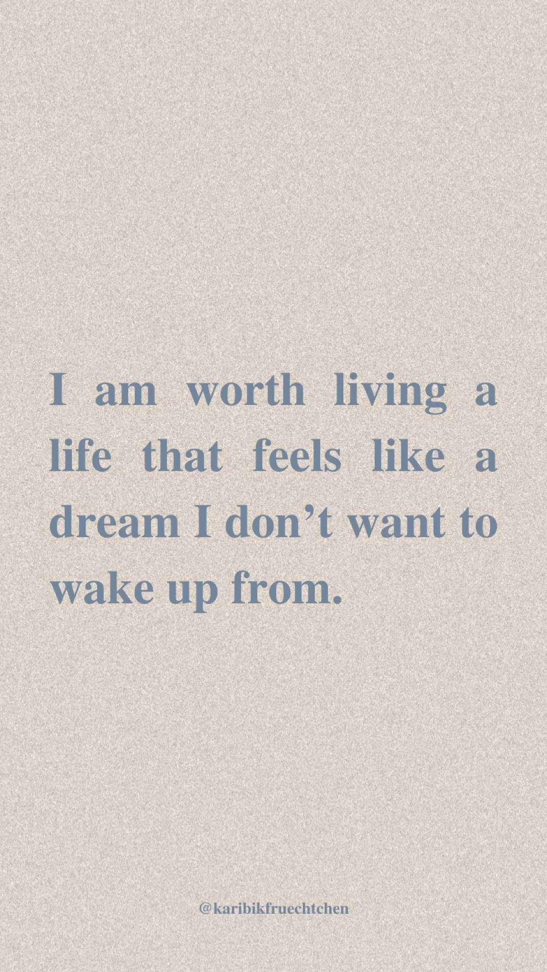 Daily Positive Affirmation for Self Love and Abundance