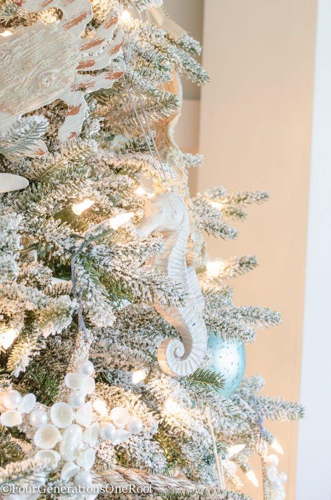 Our Coastal Christmas Tree Coastal christmas, Coastal and - coastal christmas decorations