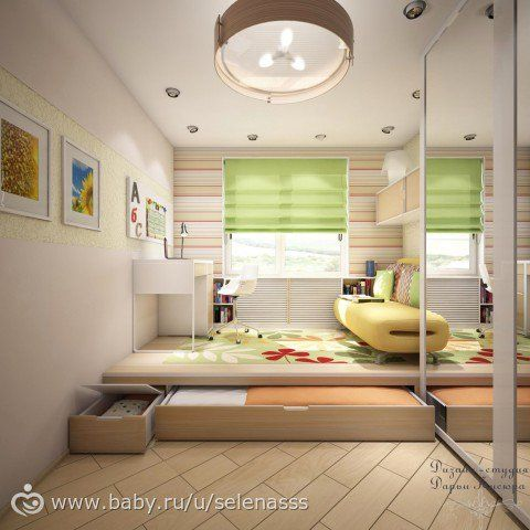 6 space saving furniture ideas for small kids room d i y - Space saving bunk beds for small rooms ...