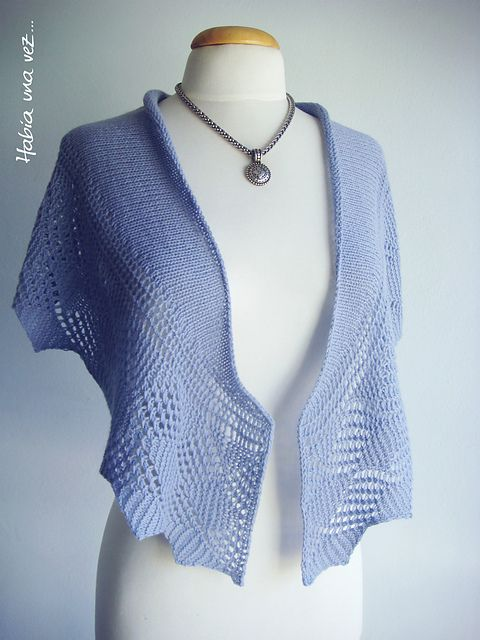Rosewood one skein by Silvia Bentancur - free | shawls & cowls ...