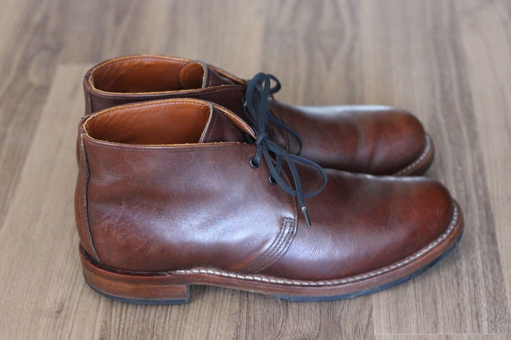 7f09e0511eed8 Red Wing Heritage #9017 'Beckman' Chukka Boot 9D $350 Chippewa JCrew ...