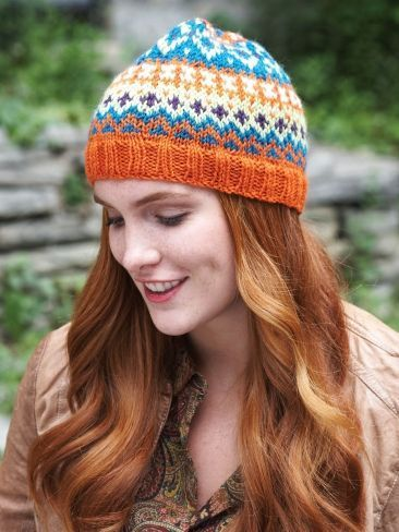 Free Pattern - When working fair isle on double-pointed ...