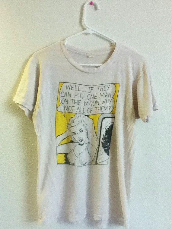 3ee4f96ddfcfbf Vintage Feminist Shirt