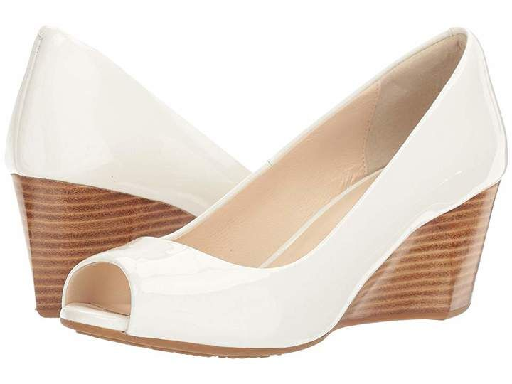 0858a3b3fd Cole Haan Sadie Open Toe Wedge 65mm in 2019 | Products | Womens ...