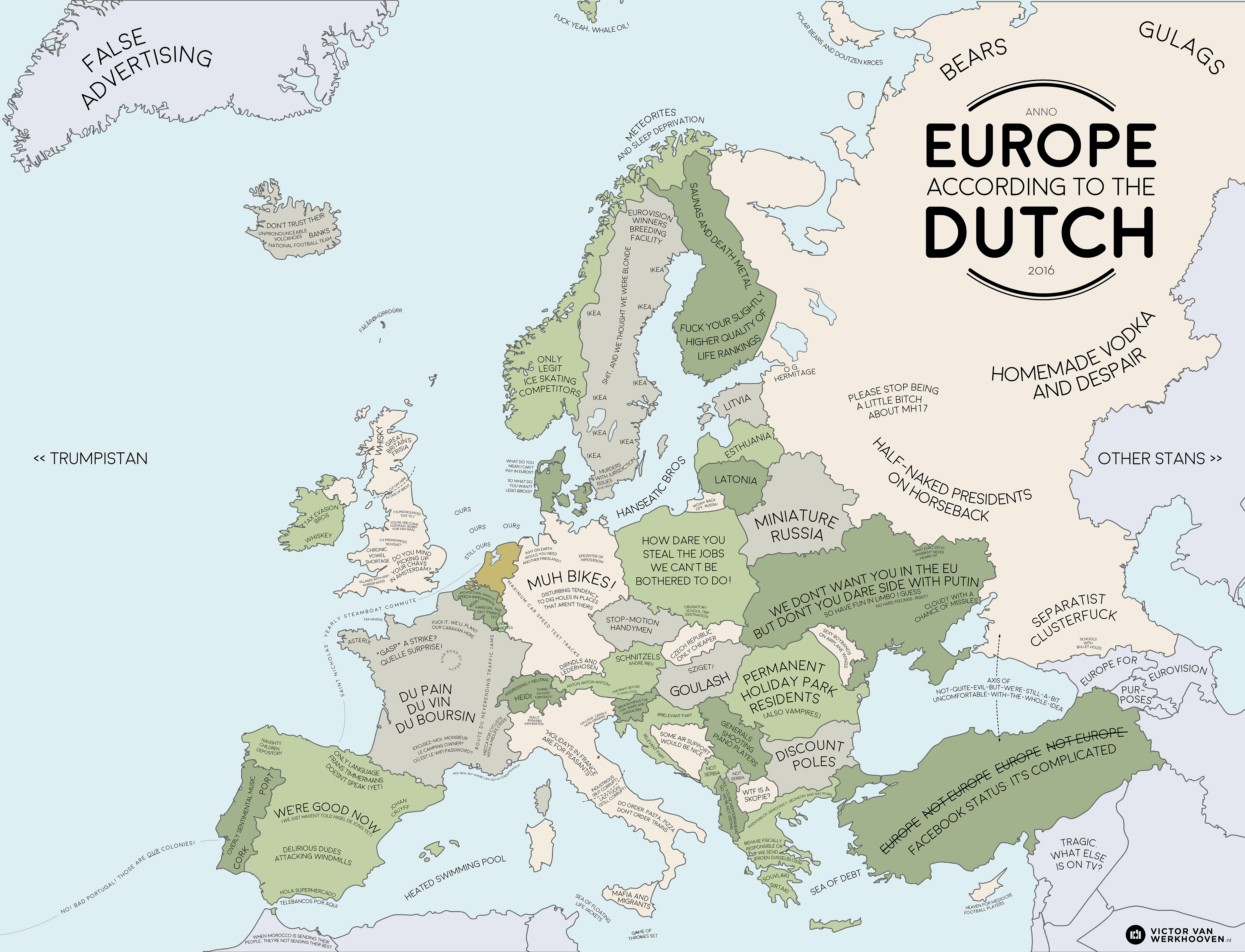 Europe according to the Dutch Europe