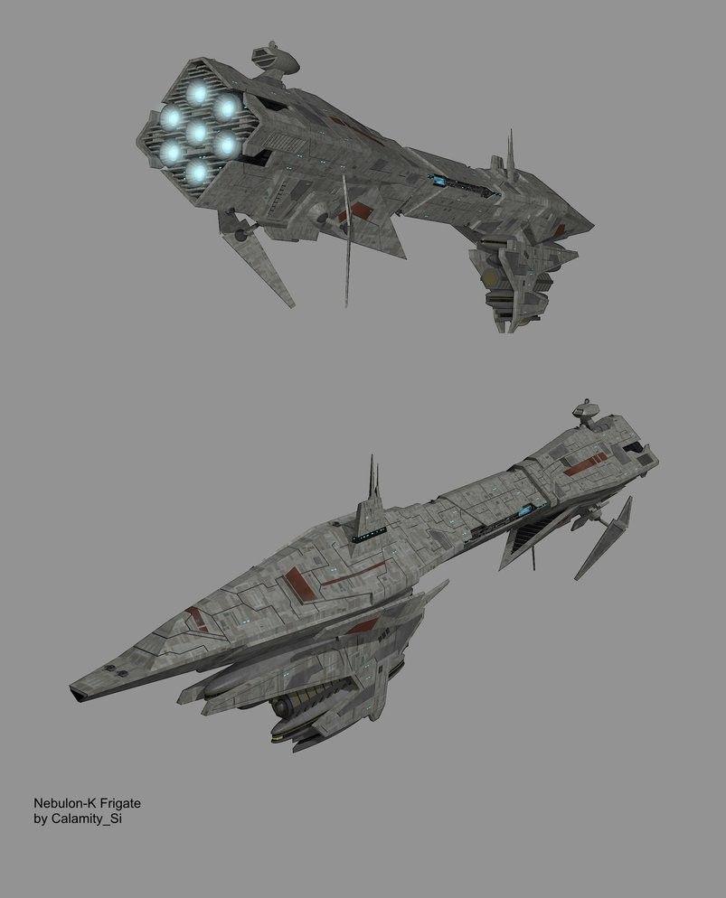 Nebulon K class frigate | Star Wars | Star wars, Star wars models