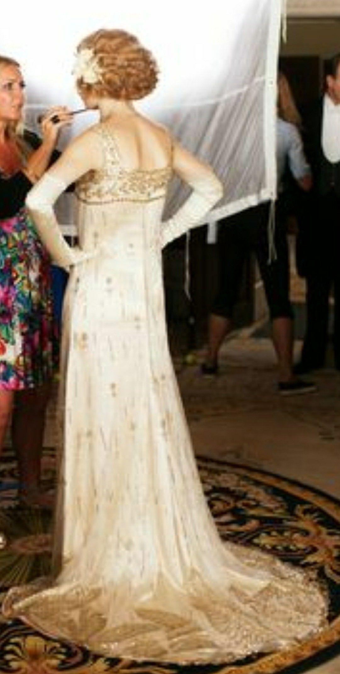 18th century wedding dress  Pin by Chaucer on Fashion  Pinterest  Fashion