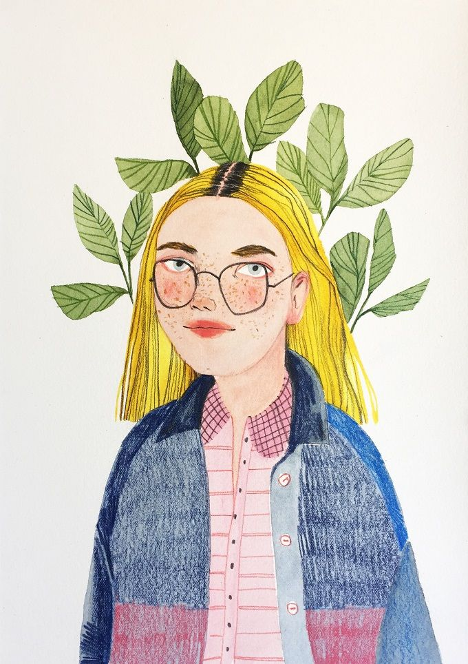 Portraits and Botanicals by Valentina Armstrong - ArtisticMoods.com