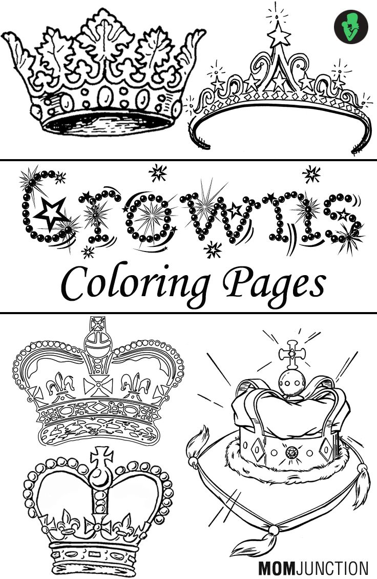 Top 10 Crowns Coloring Pages For Your Little Ones Kids Are Intrigued By All Things