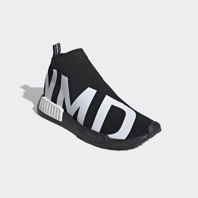 NMD_CS1 Primeknit Shoes Core Black / Core Black / Cloud White ...