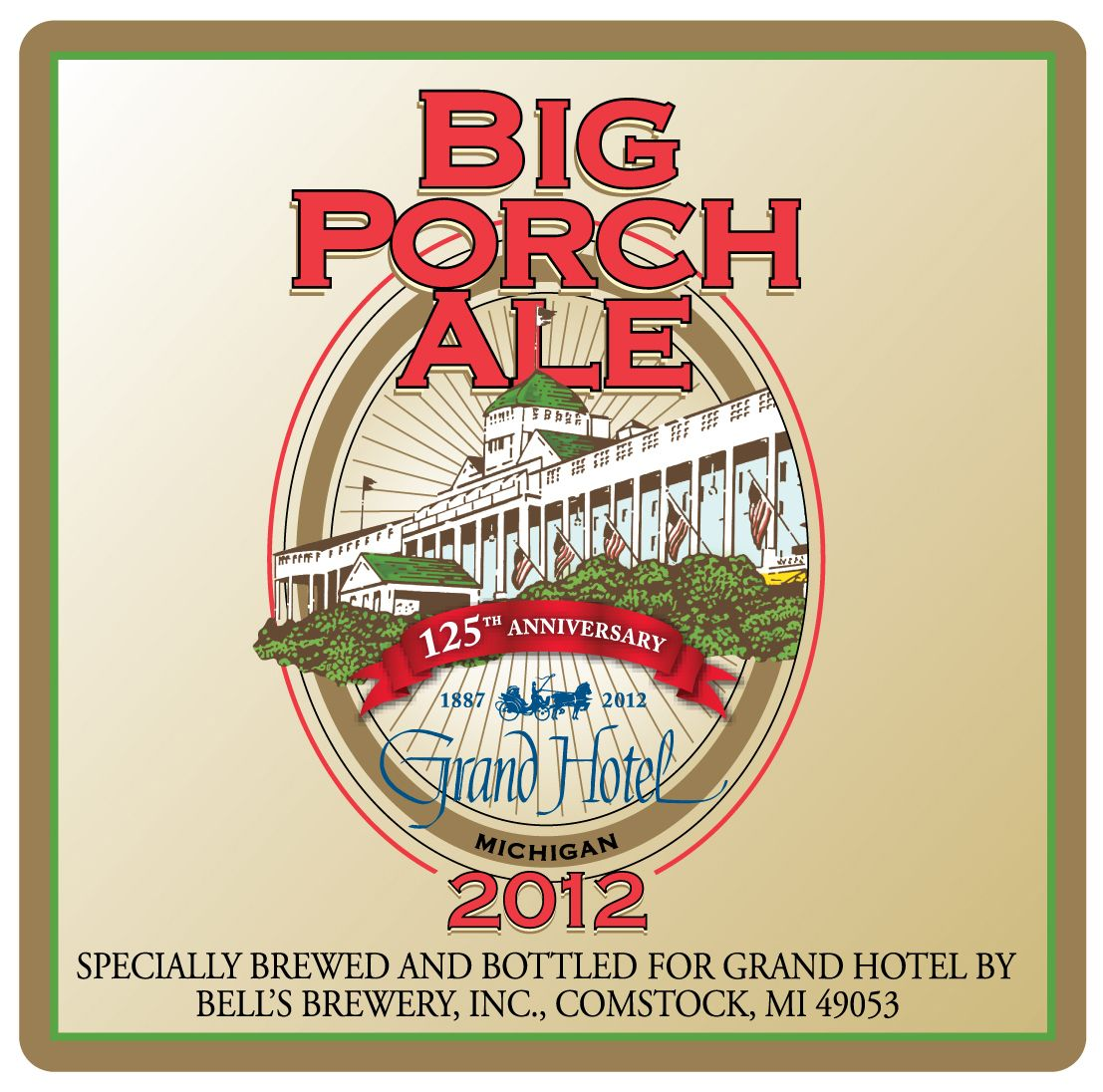 Bell S Beer Big Porch Ale 125th Anniversary Edition Specially