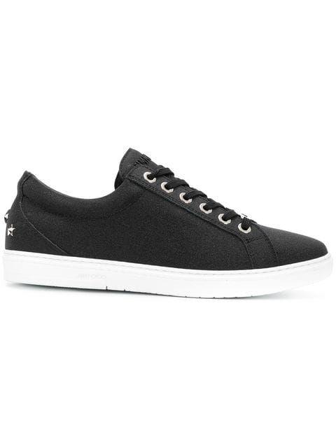 00b2155e49d JIMMY CHOO Cash小牛皮板鞋.  jimmychoo  shoes