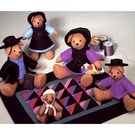 Bear Folks Toy Sewing Patterns ePattern