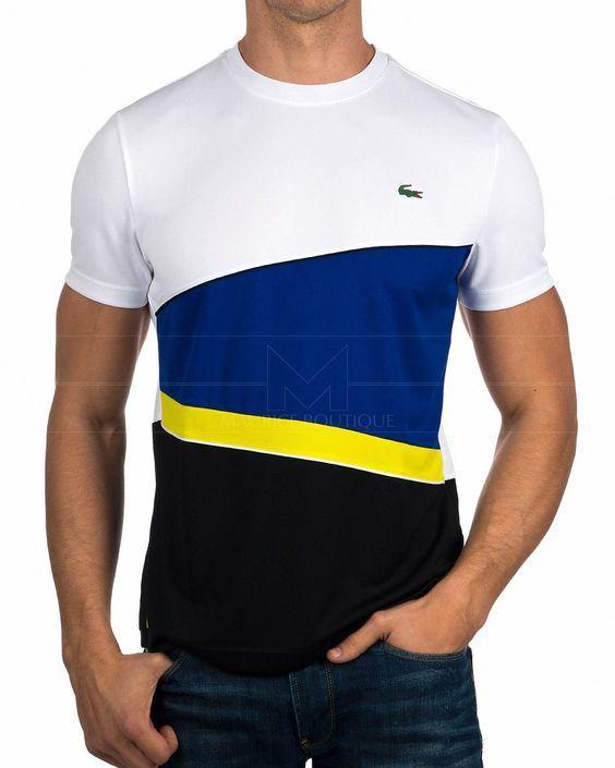 En 2019Fashion Camiseta Marino Lacoste Azul L54Acjq3R