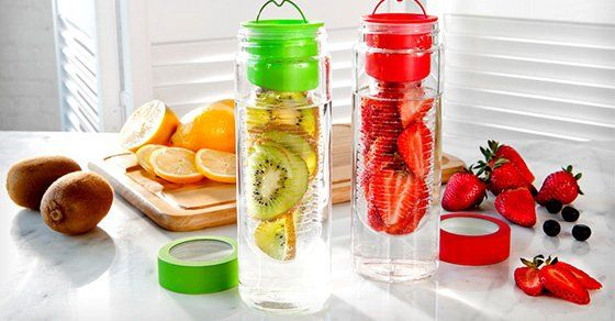 fruit infused water to aid in digestion and restore ph