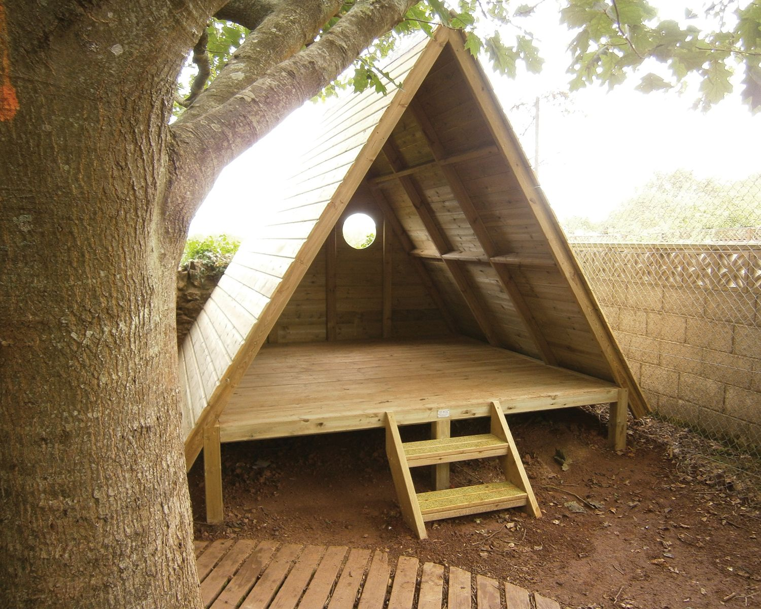 Forest Story House | Playline Playground Equipment | Outside ideas ...