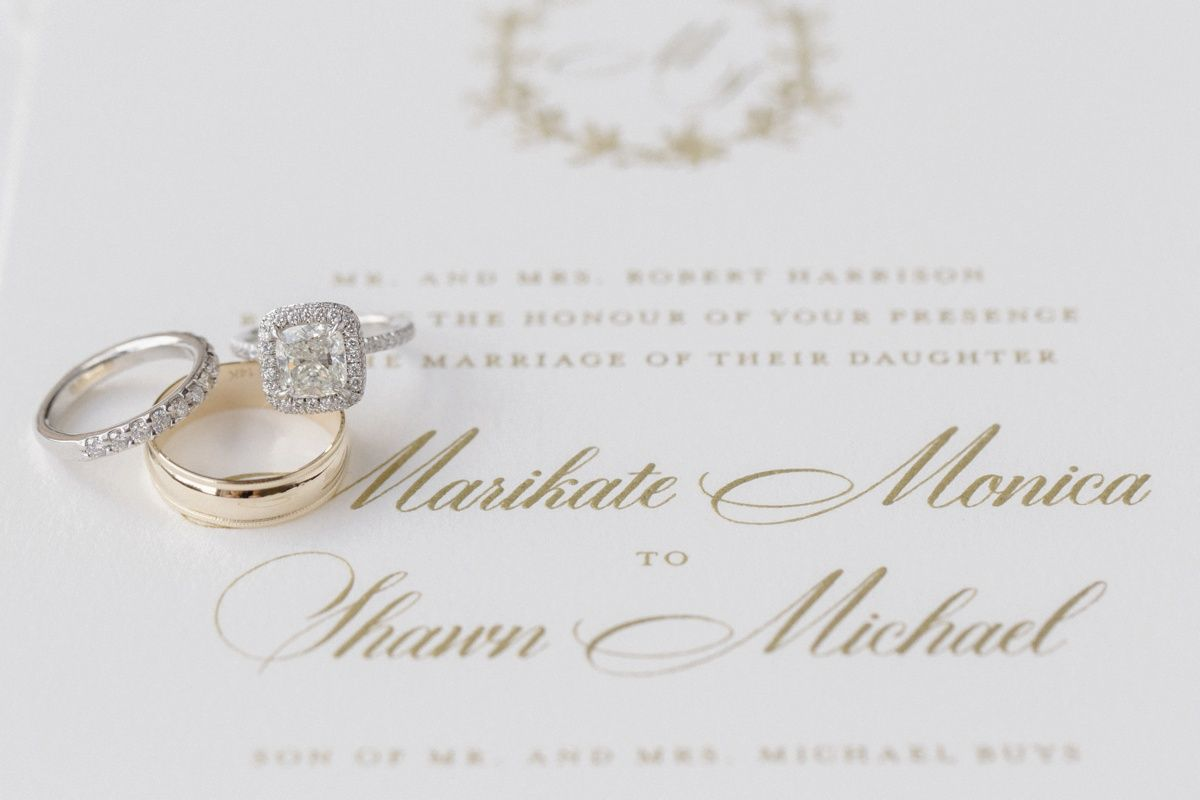 Divine Ivory Gold Pittsburgh Field Club Wedding In 2020 Wedding Rings Engagement Gorgeous Wedding Rings Gold Wedding Colors