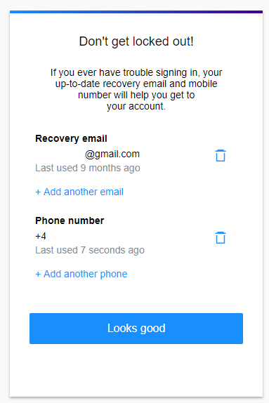 recover ymail account password