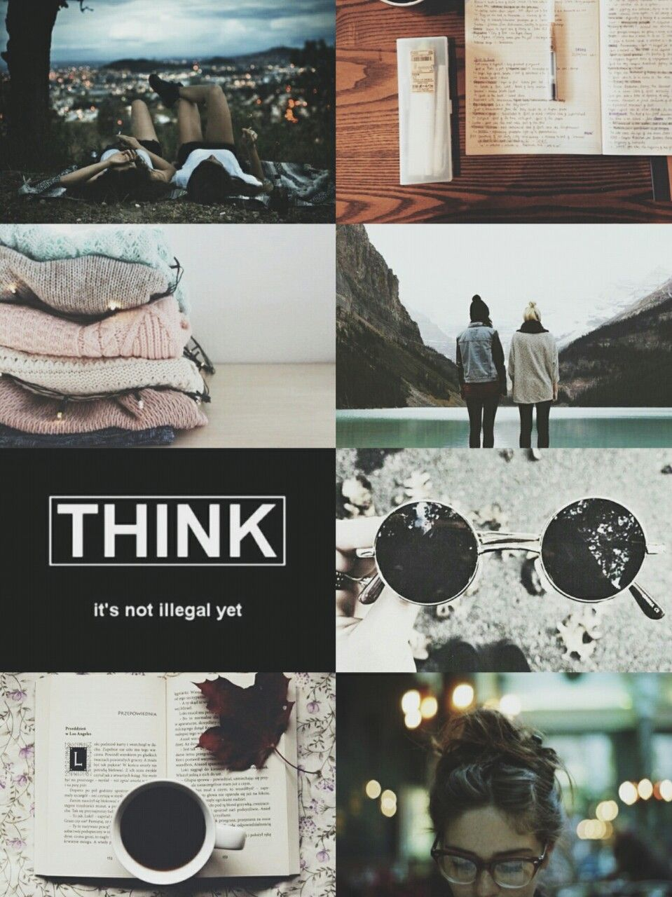 Therightsideofperspective Infj Aesthetic Collage Intj