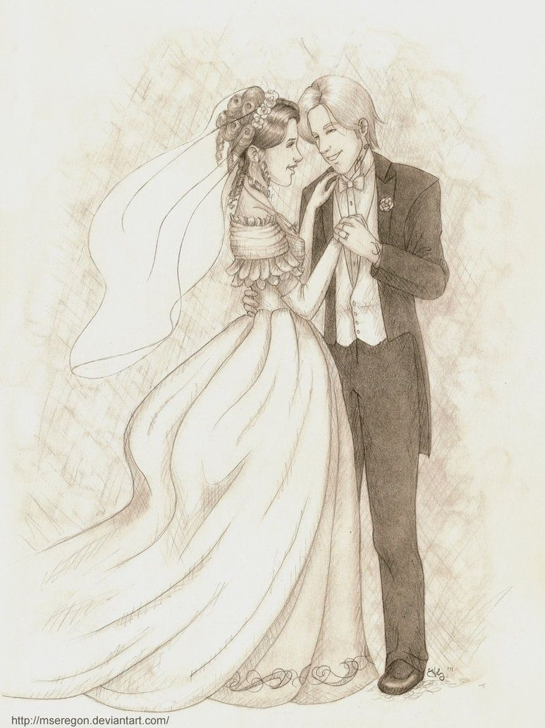 What could have been....Tessa and Jem on their wedding day!