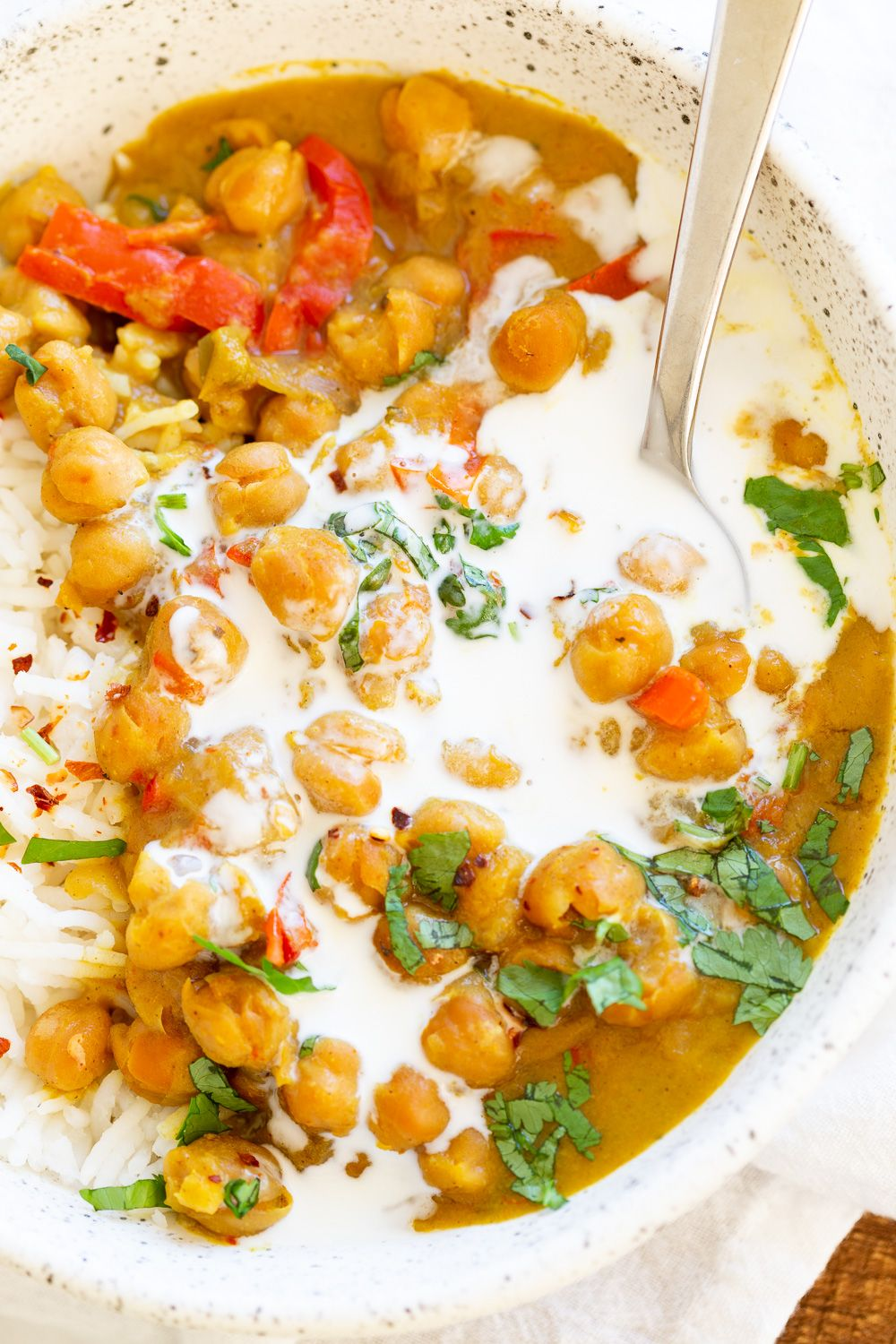 Chickpea Coconut Curry Instant Pot Or Saucepan