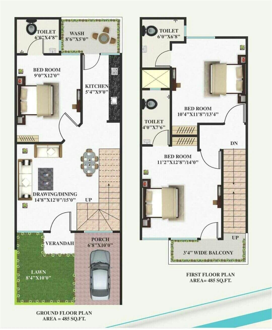 Standard House Plan Collection Engineering Discoveries 2bhk House Plan Family House Plans Budget House Plans